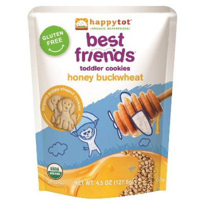 Happy Tot HappyTot Best Friends Cookies Honey & Buckwheat 4.5 oz Usda Organic