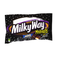 Milky Way Midnight Minis Golden Caramel Vanilla Nougat Dark Chocolates