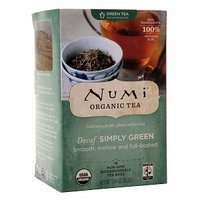 Numi Organic Tea Decaf Simply Green
