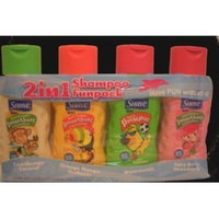 Suave Kids 2 in 1 Shampoo and Conditioner 4 Pack