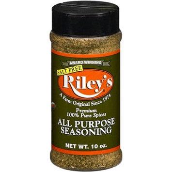 Riley's Rileys Riley Salt Free All Purpose Season 10 Oz