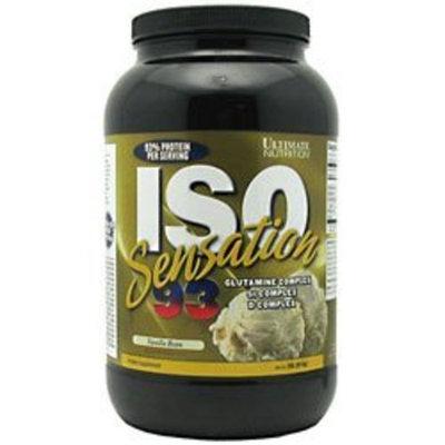 Ultimate Nutrition Iso Sensation 93 Vanilla Bean 2 Lbs.