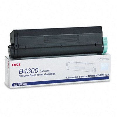 Okidata Corporation 42102901 Toner Cartridge, High-Yield, Black