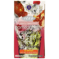 Stash Tea Company Stash Tea Pomegranate Raspberry Green Iced Tea Powder, 8 Count Packets (Pack of 6)