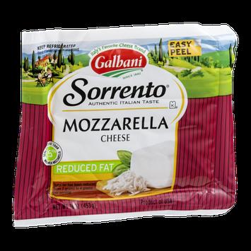 Sorrento Galbani Mozzarella Cheese Reduced Fat