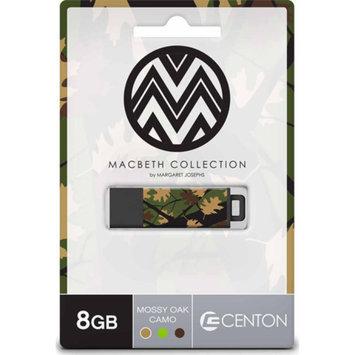 CENTON Centon 8GB PRO2 Macbeth USB Flash Drive, Mossy Oak Camo