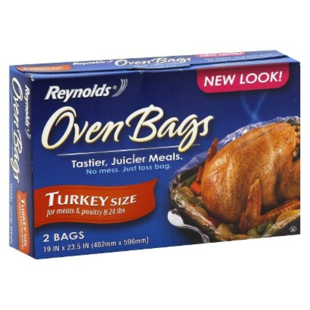 Reynolds Oven Bags Turkey Size 2 ct
