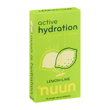 Nuun Active Hydration Lemon-Lime - 4 CT