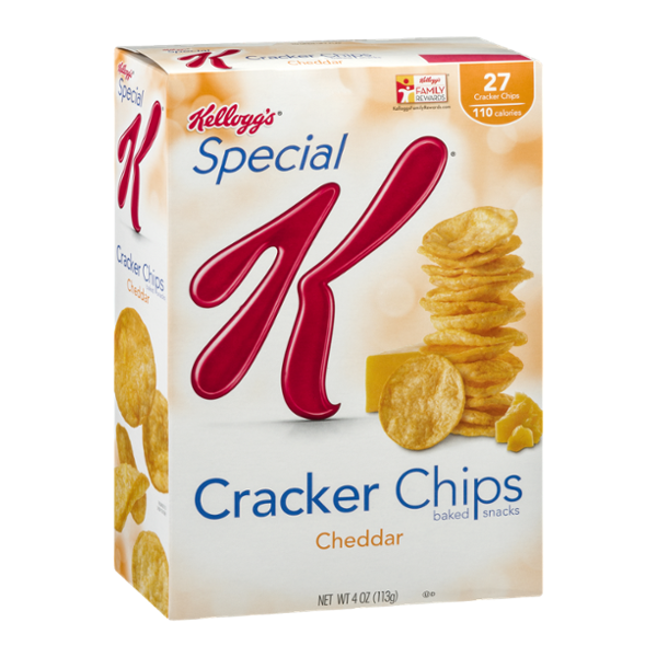 Special K® Kellogg Cheddar Cracker Chips