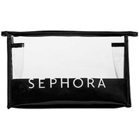 SEPHORA COLLECTION Signature Clear Cosmetic Bags Large Cosmetic Case 11 x 6.75 x 3