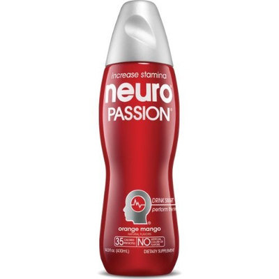 Neuro Nutritional Supplement Drink, Passion, 14.5-Ounce Bottles (Pack of 12)