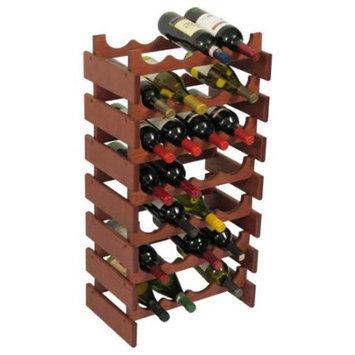 Wooden Mallet WR47MH 28 Bottle Dakota Wine Rack