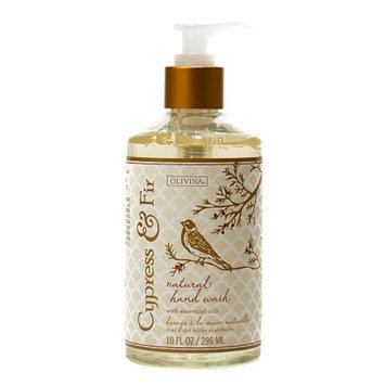 Olivina Natural Hand Wash, Cypress & Fir, 10 oz