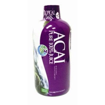 Tropical Oasis 100% Pure ACAI Liquid 32 oz