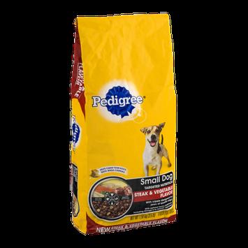 Pedigree Dog Food Small Dog Targeted Nutrition Steak & Vegetable