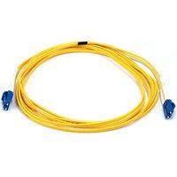 Monoprice Fiber Optic Cable, LC/LC, Single Mode, Duplex - 3 meter (9/125 Type) - Yellow