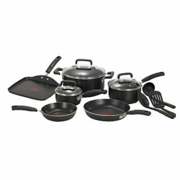 T-Fal Signature Non-Stick Cookware 12Pc Set