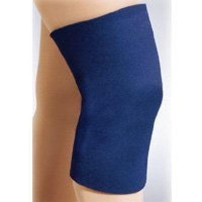 Fla Orthopedics Safe-T-Sport Neoprene Knee Sleeve - 3XL Closed Patella - Navy - 37-37337-3743LNVY