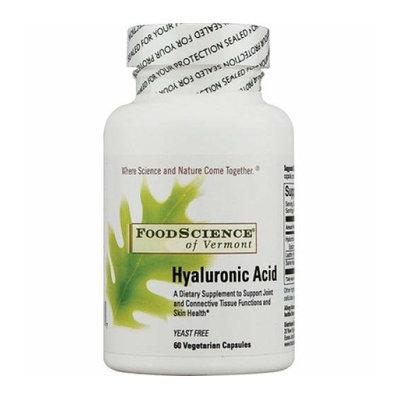 FoodScience of Vermont Hyaluronic Acid 60 Vegetarian Capsules