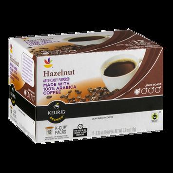 Ahold Hazelnut 100% Arabica Coffee Light Roast K-Cup Packs - 12 CT
