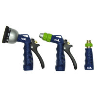 Commerce Llc Ray Padula 3 Piece Hose Nozzle Triple Pack - COMMERCE LLC