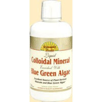 Dynamic Health Liquid Colloidal Mineral Enriched with Blue Green Algae, Lemon Lime Flavored, 32-Ounce Bottle