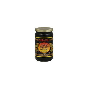 Mikee Stir-Fry & Rib Sauce - Garlic - 1 Bottle - 20 oz
