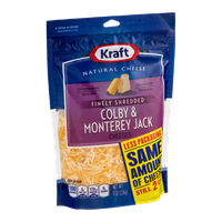 Kraft Colby & Monterey Jack Cheeses Finely Shredded