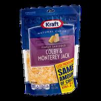 Kraft Colby & Monterey Jack Cheeses Finely Shredded