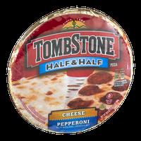 Tombstone Half & Half Pizza Cheese/Pepperoni