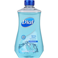 Dial Spring Water Antibacterial Liquid Hand Soap with Moisturizer Refill