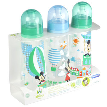 Disney Baby 3 Pack 8 Ounce Bottles Mickey Mouse - THE FIRST YEARS, INC.