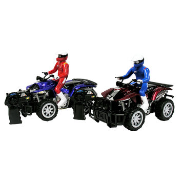 Just Kidz Motorcycle Sandy Beach, Blue Guy