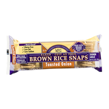 Edward & Sons Brown Rice Snaps Toasted Onion