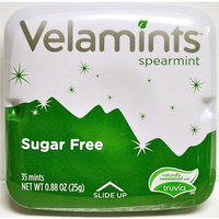 Velamints Spearmint (ONE TIN - 35 Mints), Sugar Free