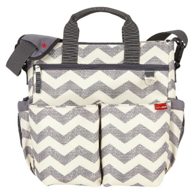 Duo Signature Diaper Bag - Chevron by Skip Hop
