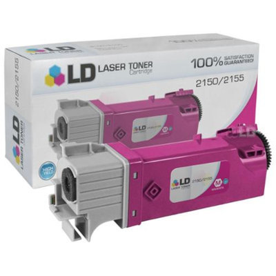 LD Compatible Toner to Replace Dell 2Y3CM / 331-0717 High Yield Magenta Toner Cartridge for your Dell 2150 & 2155 Color Laser Printers