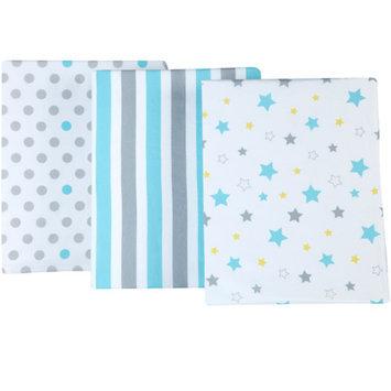 Little Bedding by NoJo Twinkle Twinkle Set of 3 Crib Sheets