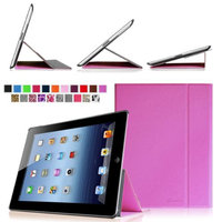 Fintie Smart Book Cover Case Supports Three Viewing Angles for Apple iPad 2, iPad 3 & iPad with Retina Display, Violet