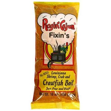 Ragin Cajun Fixin's Louisiana Shrimp, Crab and Crawfish Boil, 16-Ounce Bags (Pack of 12)