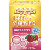 Emergen-C 1000mg Vitamin C Dietary Supplement – Raspberry