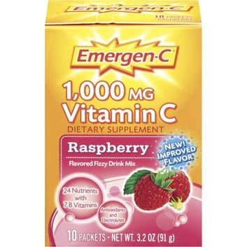 Emergen-C 1000mg Vitamin C, Raspberry