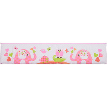 Baby Boom - Mix 'N Match Crib Bumper, Pink