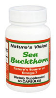 Natures Vision Nature's Vision - Sea Buckthorn 1000 mg. - 60 Capsules