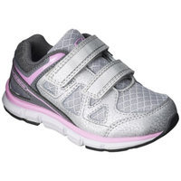 Toddler Girl's C9 by Champion Impact Athletic Shoes - Gray/Pink 12