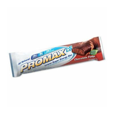 Promax Low Sugar Bar Chocolate Fudge Case of 12 2.36 oz