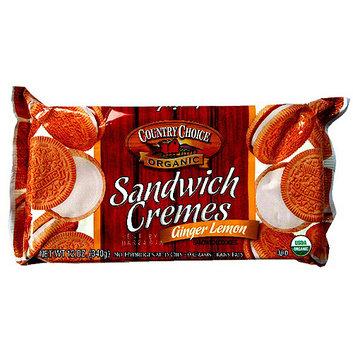 Country Choice Organic Ginger Lemon Sandwich Cookies