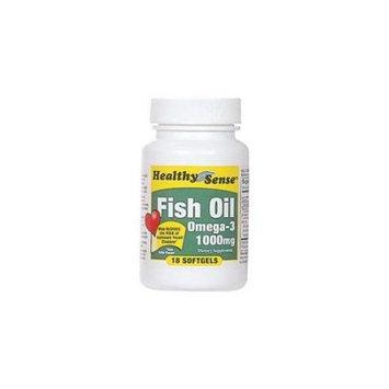 DDI 1187158 Fish Oil 1000Mg 18Ct Case Of 6