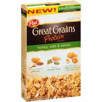 Post Great Grains Protein Blend Honey