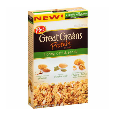 Post Great Grains Protein Blend Honey